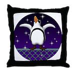 Penguin5 Throw Pillow