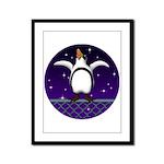 Penguin5 Framed Panel Print