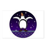 Penguin5 Postcards (Package of 8)