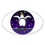 Penguin5 Sticker (Oval)