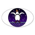 Penguin5 Sticker (Oval 10 pk)