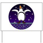 Penguin5 Yard Sign