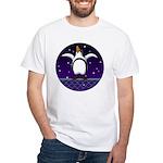 Penguin5 White T-Shirt
