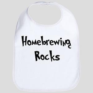 Homebrewing Rocks Bib