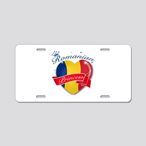 Romanian Princess Aluminum License Plate