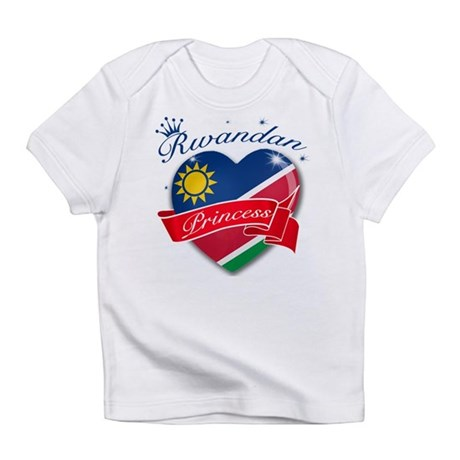 Rwandan Princess Infant T-Shirt
