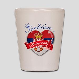 Serbian Princess Shot Glass