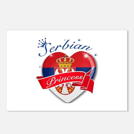 Serbian Princess Postcards (Package of 8)
