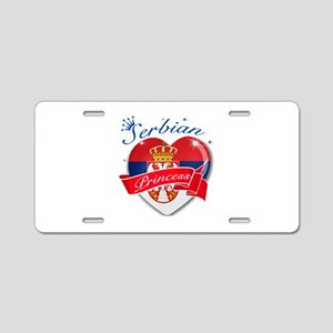 Serbian Princess Aluminum License Plate