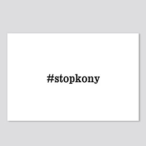 #stopkony dark Postcards (Package of 8)
