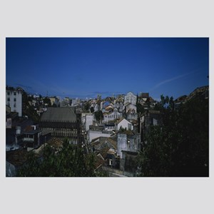 High angle view of buildings in a city, Salvador d