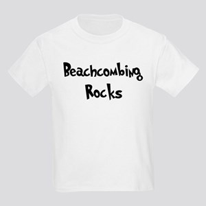Beachcombing Rocks Kids T-Shirt