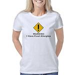 foodallergiesW Women's Classic T-Shirt