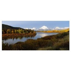 Snake River Grand Tetons National Park WY Poster