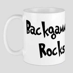 Backgammon Rocks Mug