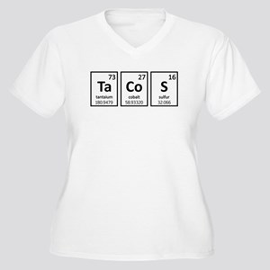 Tacos Women's Plus Size V-Neck T-Shirt