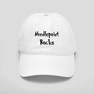 Needlepoint Rocks Cap