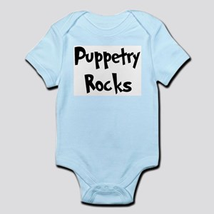 Puppetry Rocks Infant Creeper