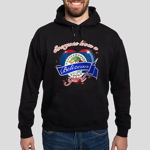 I heart Belizean Designs Hoodie (dark)