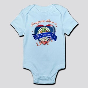 I heart Belizean Designs Infant Bodysuit