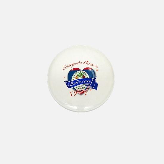 I heart Belizean Designs Mini Button
