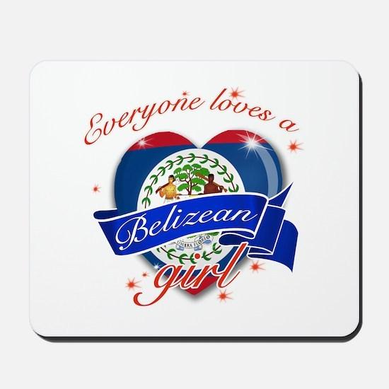 I heart Belizean Designs Mousepad