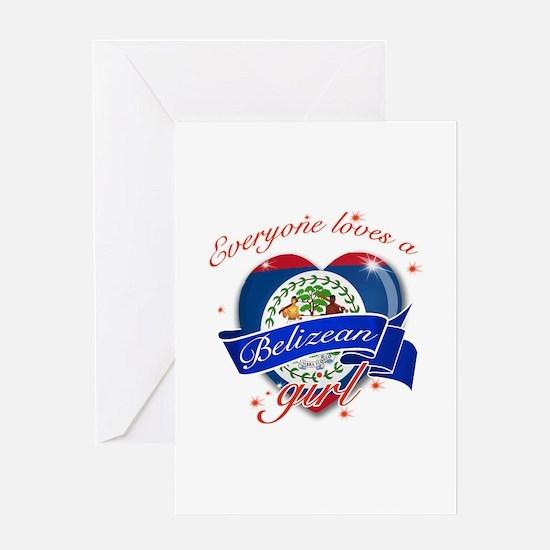 I heart Belizean Designs Greeting Card