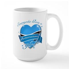 I heart Botswanan Designs Large Mug