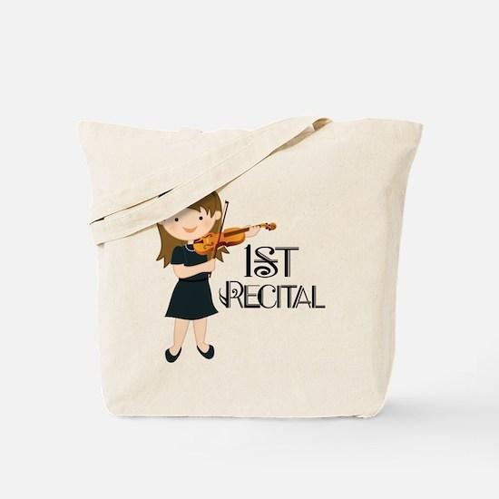 Violin Music 1st Recital Tote Bag