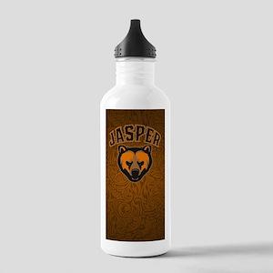 Jasper Bear Face Stainless Water Bottle 1.0L