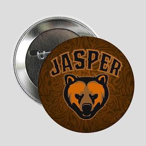"""Jasper Bear Face 2.25"""" Button"""