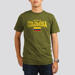 Made In Colombia Organic Men's T-Shirt (dark)