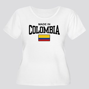 Made In Colombia Women's Plus Size Scoop Neck T-Sh