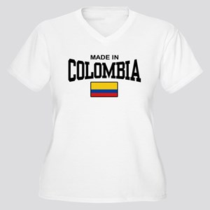 Made In Colombia Women's Plus Size V-Neck T-Shirt