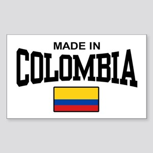 Made In Colombia Sticker (Rectangle)