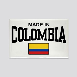 Made In Colombia Rectangle Magnet