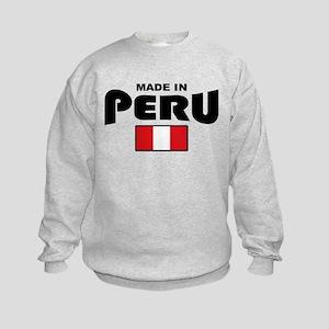 Made In Peru Kids Sweatshirt
