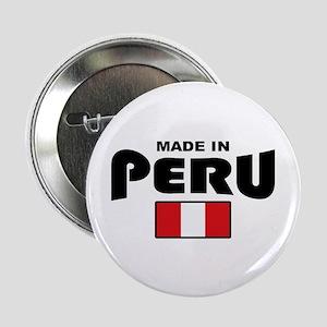 """Made In Peru 2.25"""" Button"""