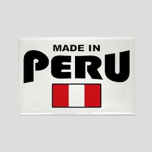 Made In Peru Rectangle Magnet