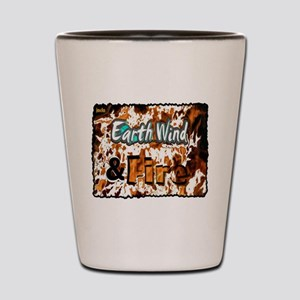 earth wind and fire Shot Glass