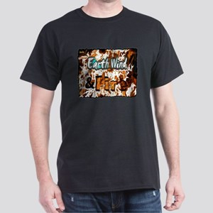 earth wind and fire Dark T-Shirt