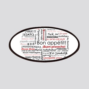 Bon appetit in different lang Patches