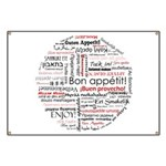 Bon appetit in different lang Banner