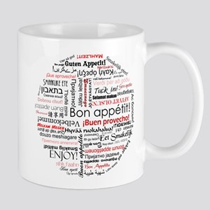 Bon appetit in different lang Mug