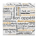Bon Appetit in many languages Tile Coaster