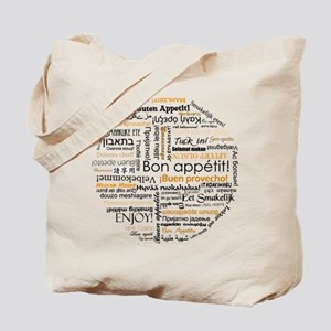 Bon Appetit in many languages Tote Bag
