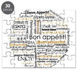 Bon Appetit in many languages Puzzle