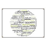 Bon appetit in other language Banner