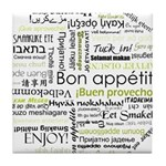 Bon appetit in other language Tile Coaster