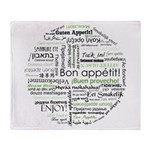 How to say Bon appetit - Gree Throw Blanket